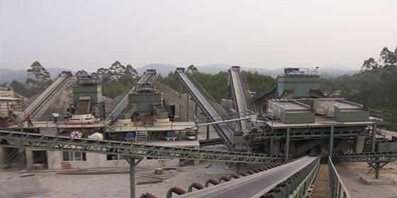 400吨/小时花岗岩制沙生产线