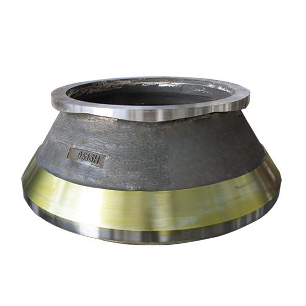 圆锥破碎机耐磨配件轧臼壁